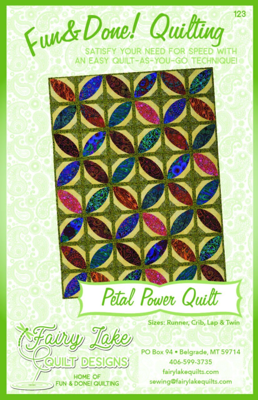 Petal Power Quilt | Fun & Done Quilting | 123