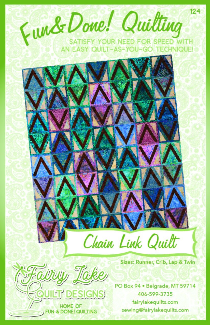 Chain Link Quilt | Fun & Done Quilting | 124