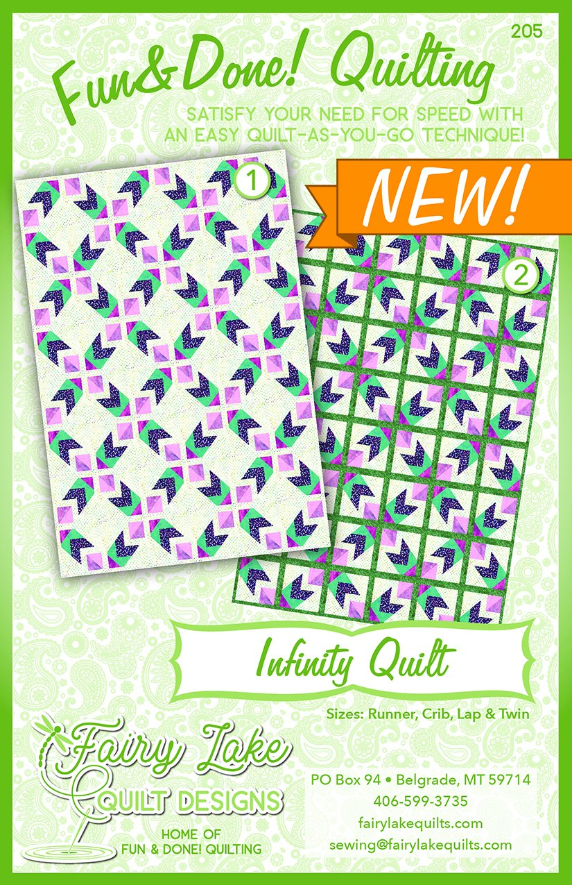 Infinity | Fun & Done Quilting | 205