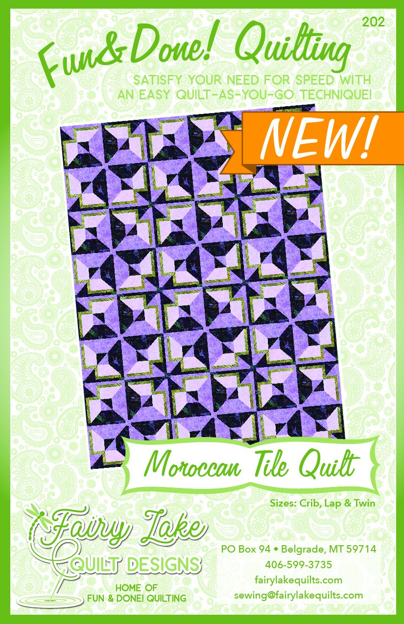 Morocan Tile | Fun & Done Quilting | FLQD202