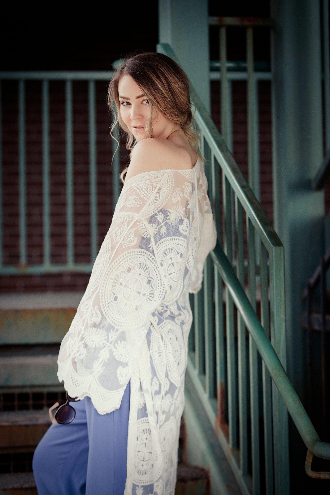 Longline Lace Cardigan