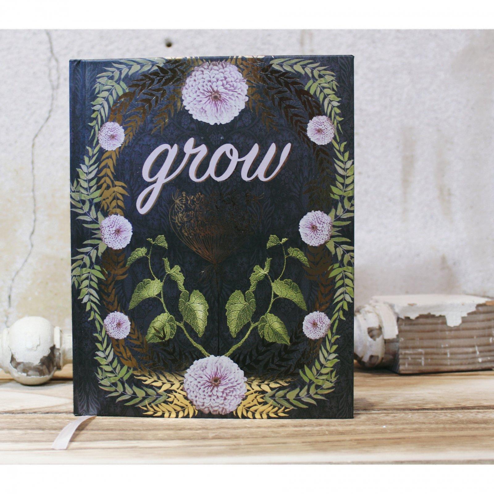 Grow Hardcover Journal