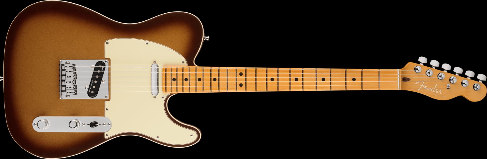 Fender Ultra Telecaster Mocha Burst Maple