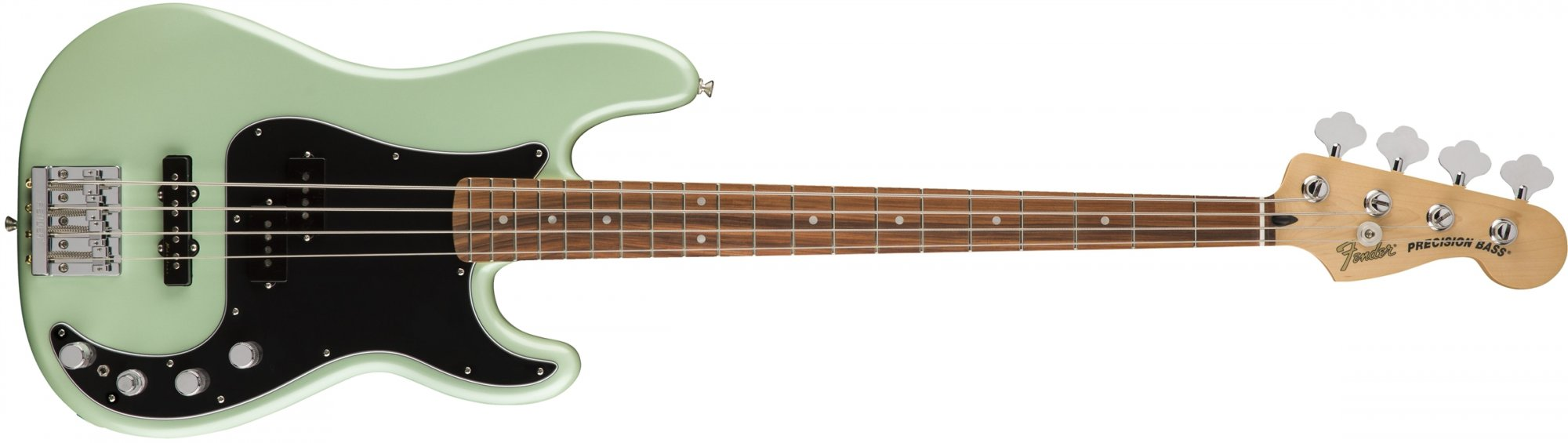 P Bass Deluxe Active Spec RW Surf Pearl