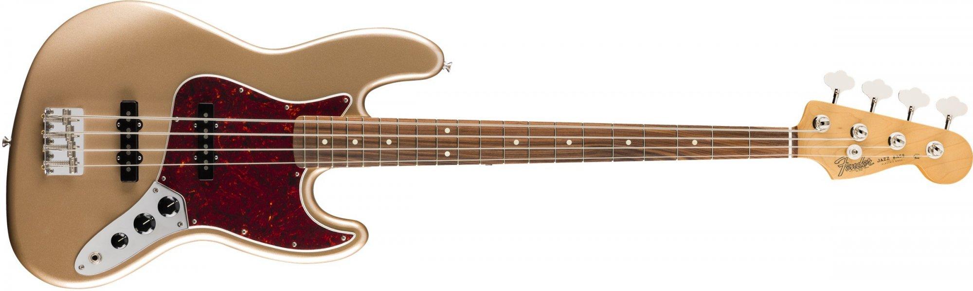 J Bass Vintera 60's PF Neck FMG