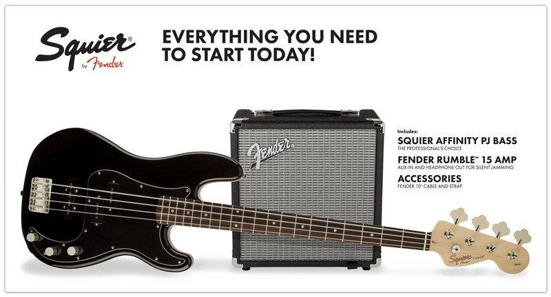 PJ Bass Pack  Black  GB  R15