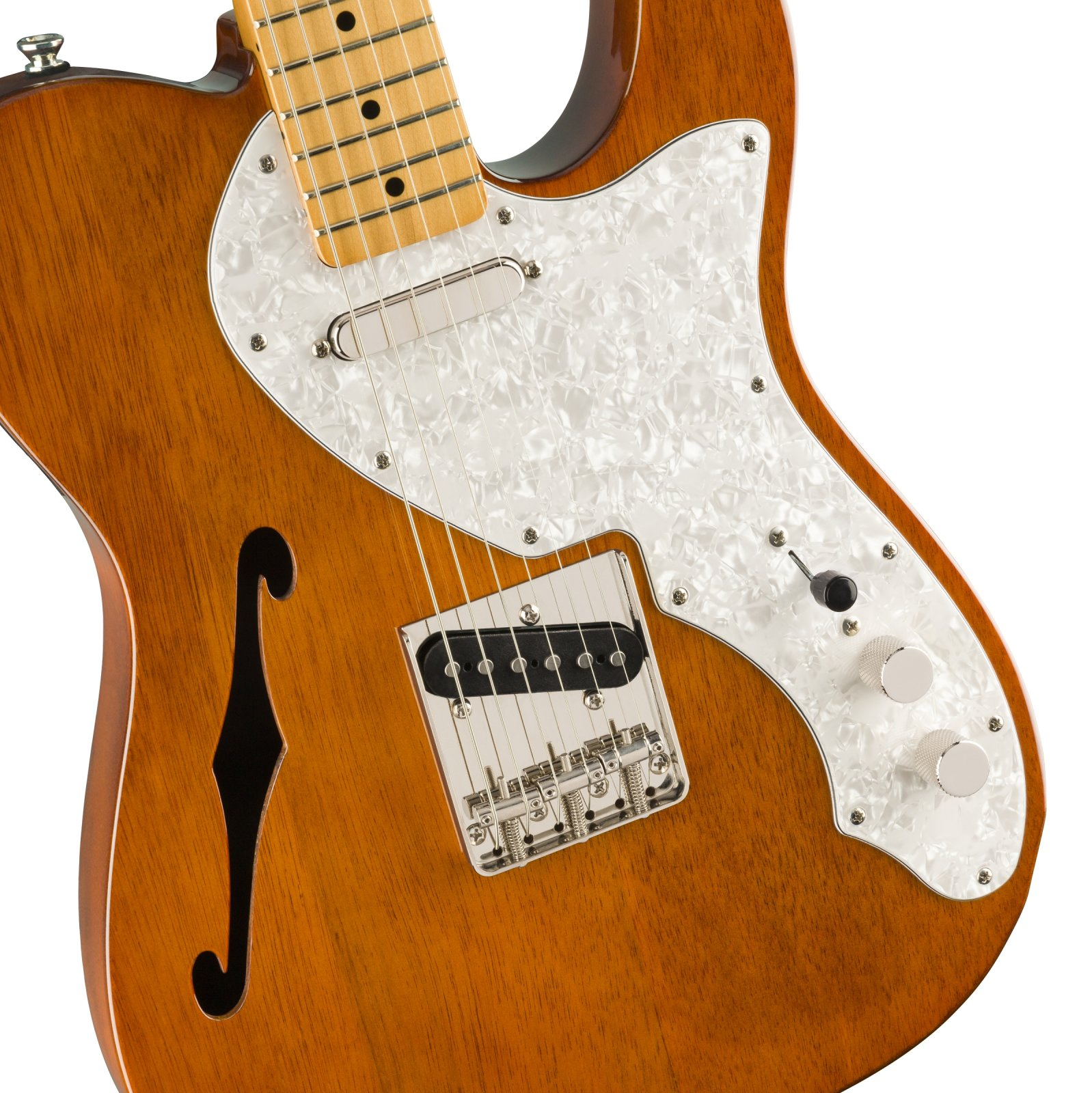 Squire Classic Vibe 60's Tele Thinline MN in Natural