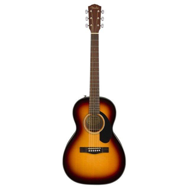 Fender CP-60S Parlor Acoustic Guitar Sunburst