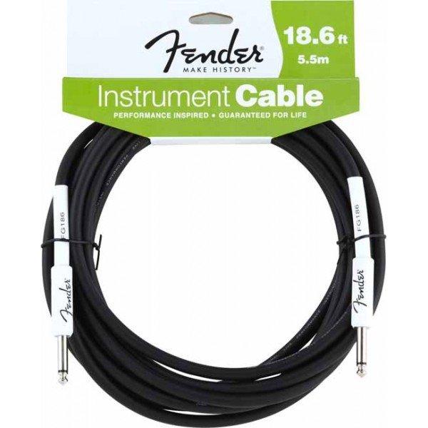 Fender 18.6 Instrument Cable Black