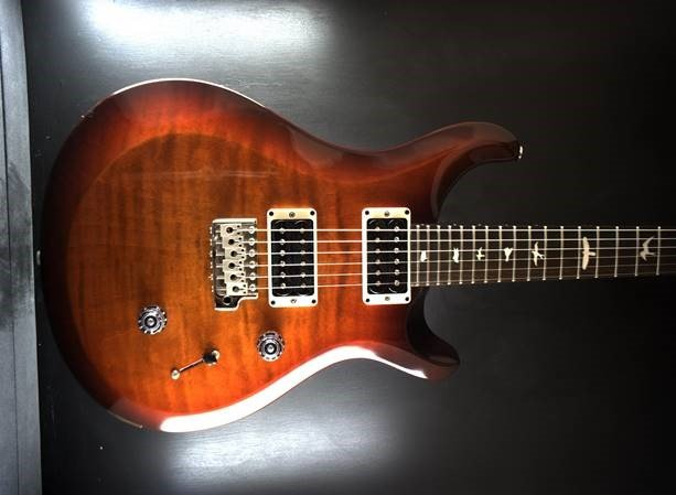 PRS S2 Custom 24 Custom Color Cherry Amber Burst