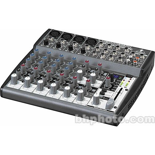 1202FX XENYX/EQ 23 Input 2 bus mixer with FX