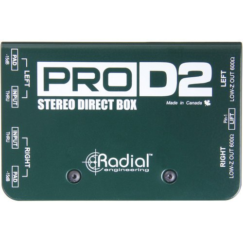 Pro D2 Stereo Direct Box