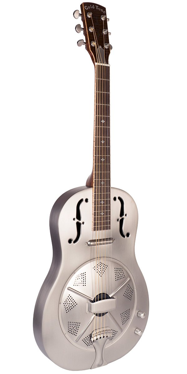 Metal Body Round Neck Guitar  thin Body with Pickup