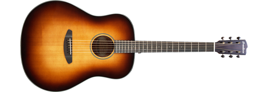 Discovery Dreadnought Sunburst  Sitka Mahogany  w bag