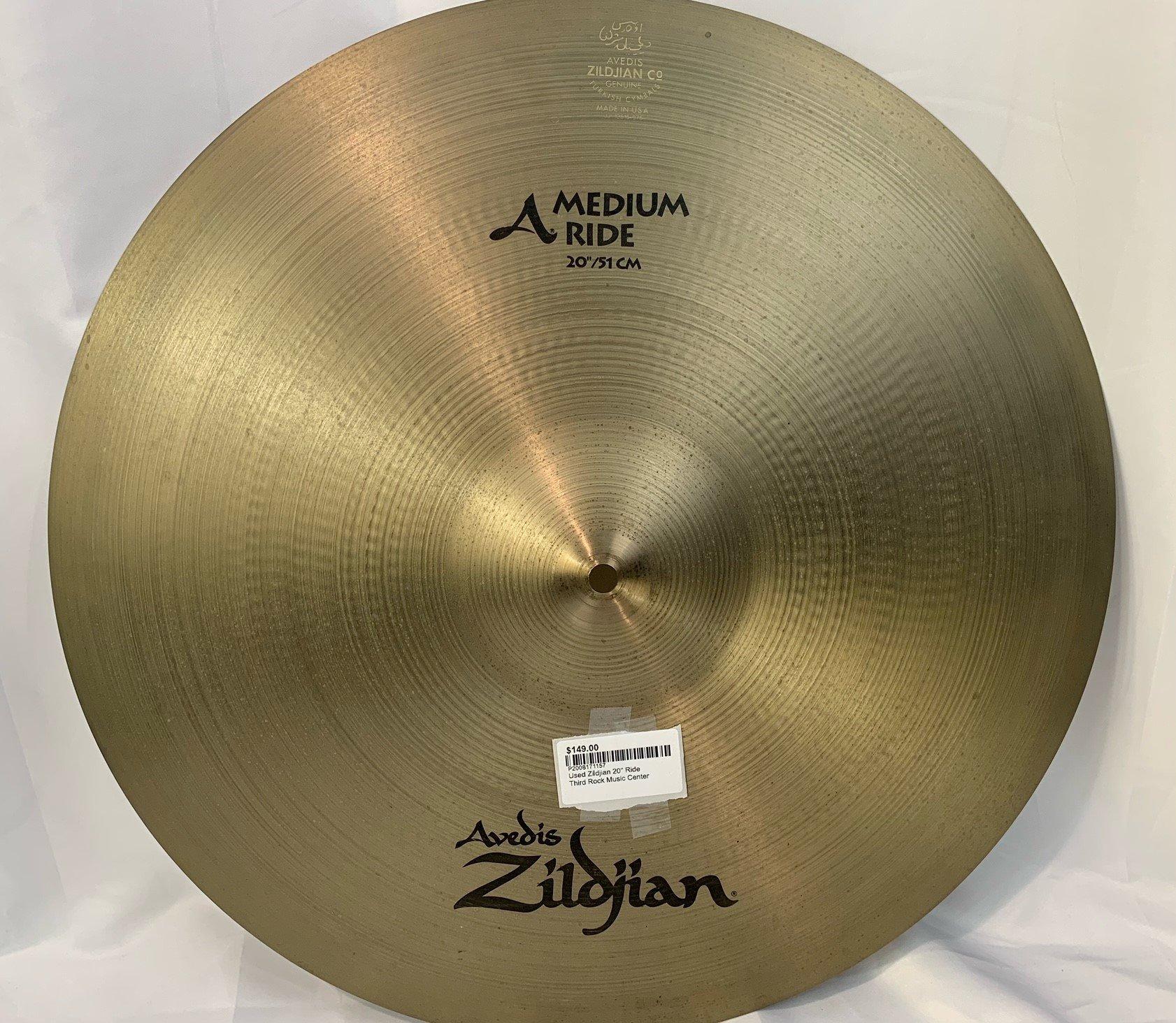 Used Zildjian 20 Ride