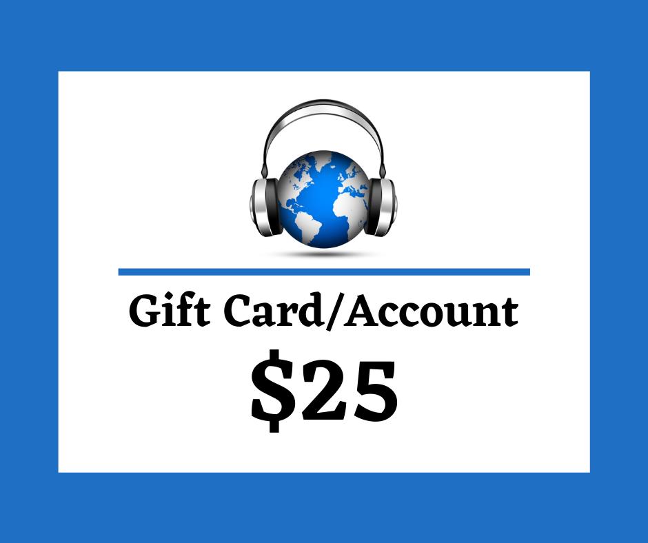 Gift Card, Third Rock Music Center, $25