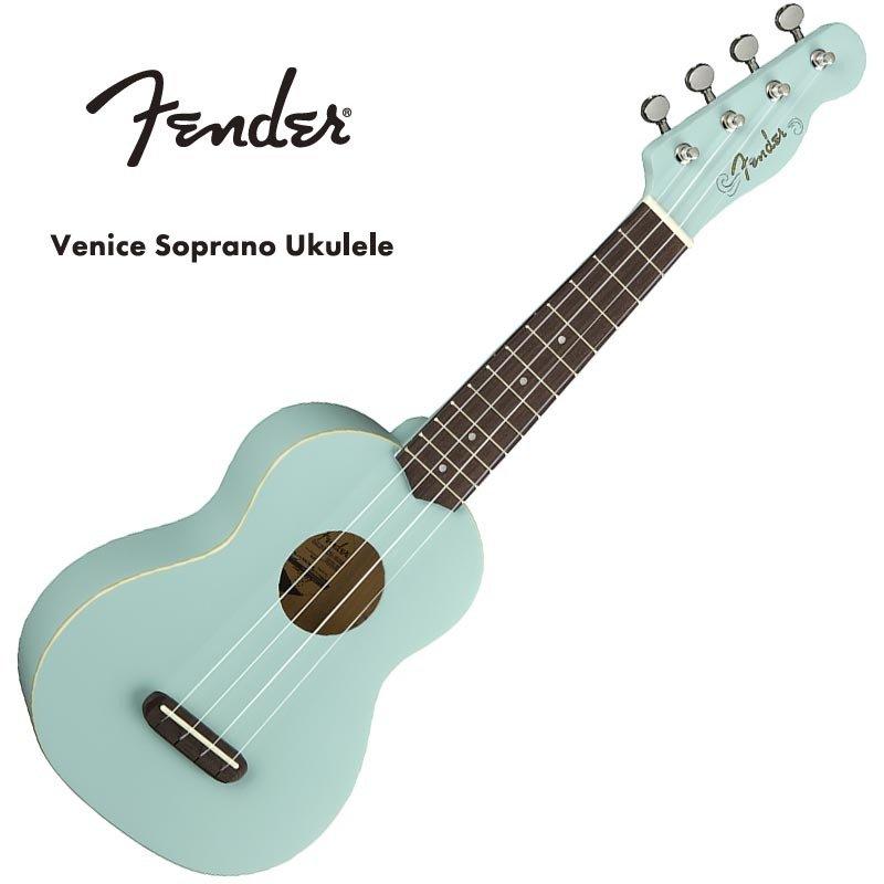 Fender Venice Soprano Uke DPB WN