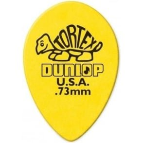 Tortex .73 Yello Teardrop  Pack of 12