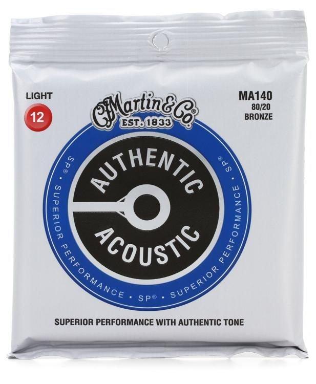 MA140 80/20 Bronze Authentic Acoustic  12-53