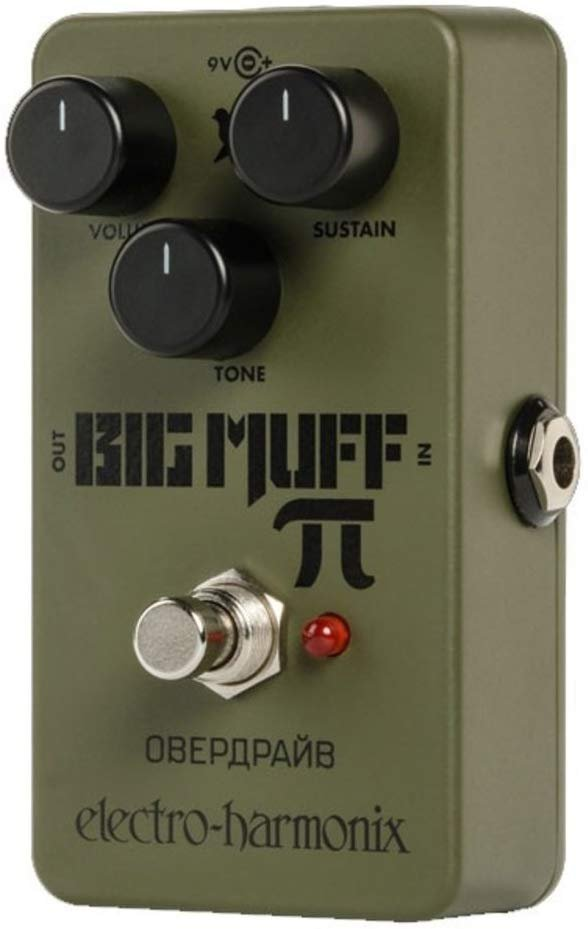 Green Russian Big Muff Pi