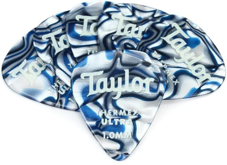 Premium Thermax Ultra Picks, Blue Swirl 1.25mm