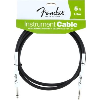 5' Instrument Cable in Black