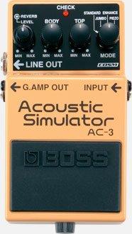 AC-3 Acoustic Simulator Pedal