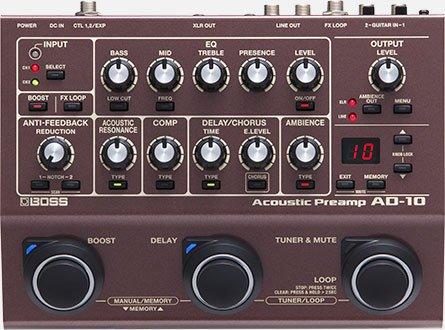 AD-10 Acoustic Guitar Processor