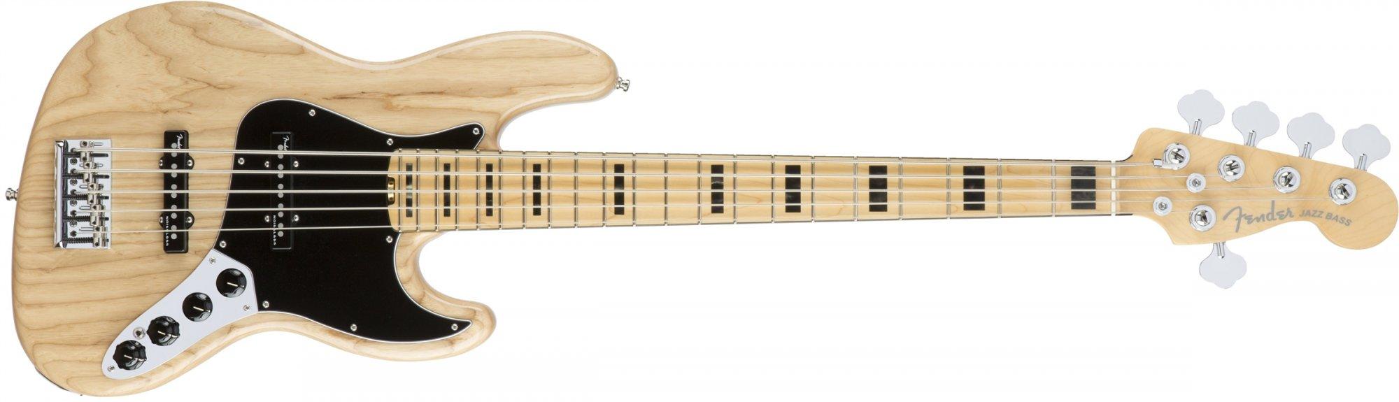 American Jazz  V Elite Bass ASH MN Natural