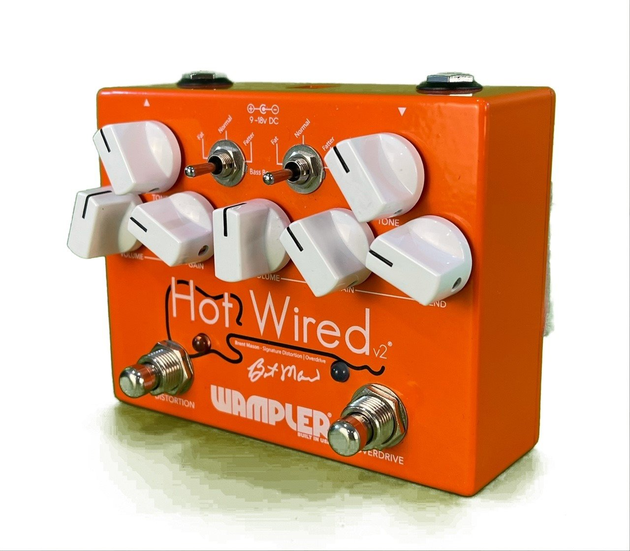 Wampler Hotwired V2 Pedal in Excellent Condition from Third Rock Music Center