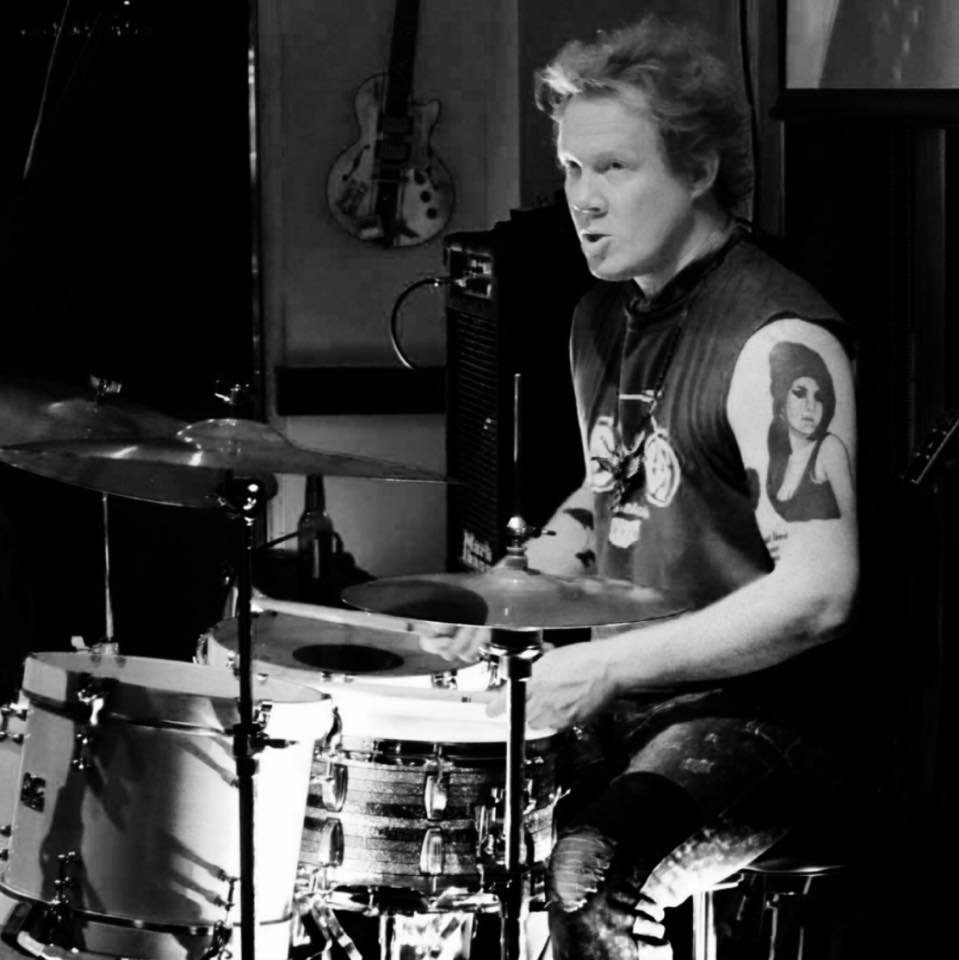 Drummer and music teacher Bobby Armstrong
