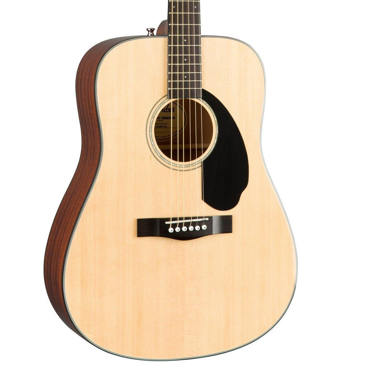 Fender CD-60S V2Acoustic Guitar Pack in Natural