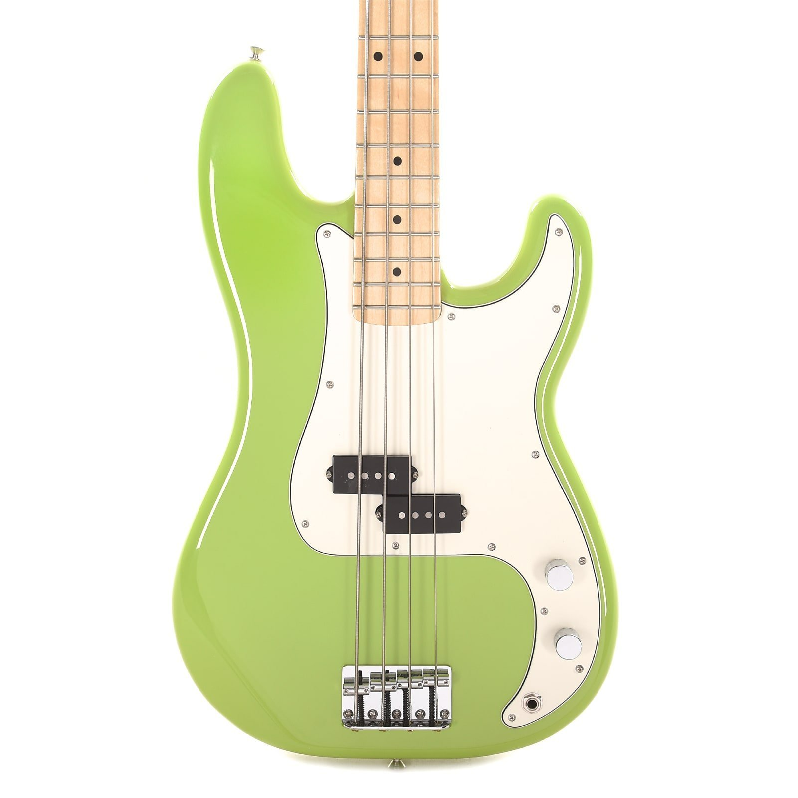 Fender Player's  P-Bass Limited Edition with a Maple Neck in Electron Green