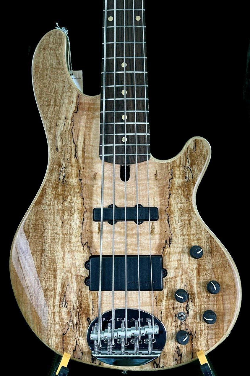 Lakland Skyline s55-02 Spaulted Maple Deluxe 5 String Bass Guitar