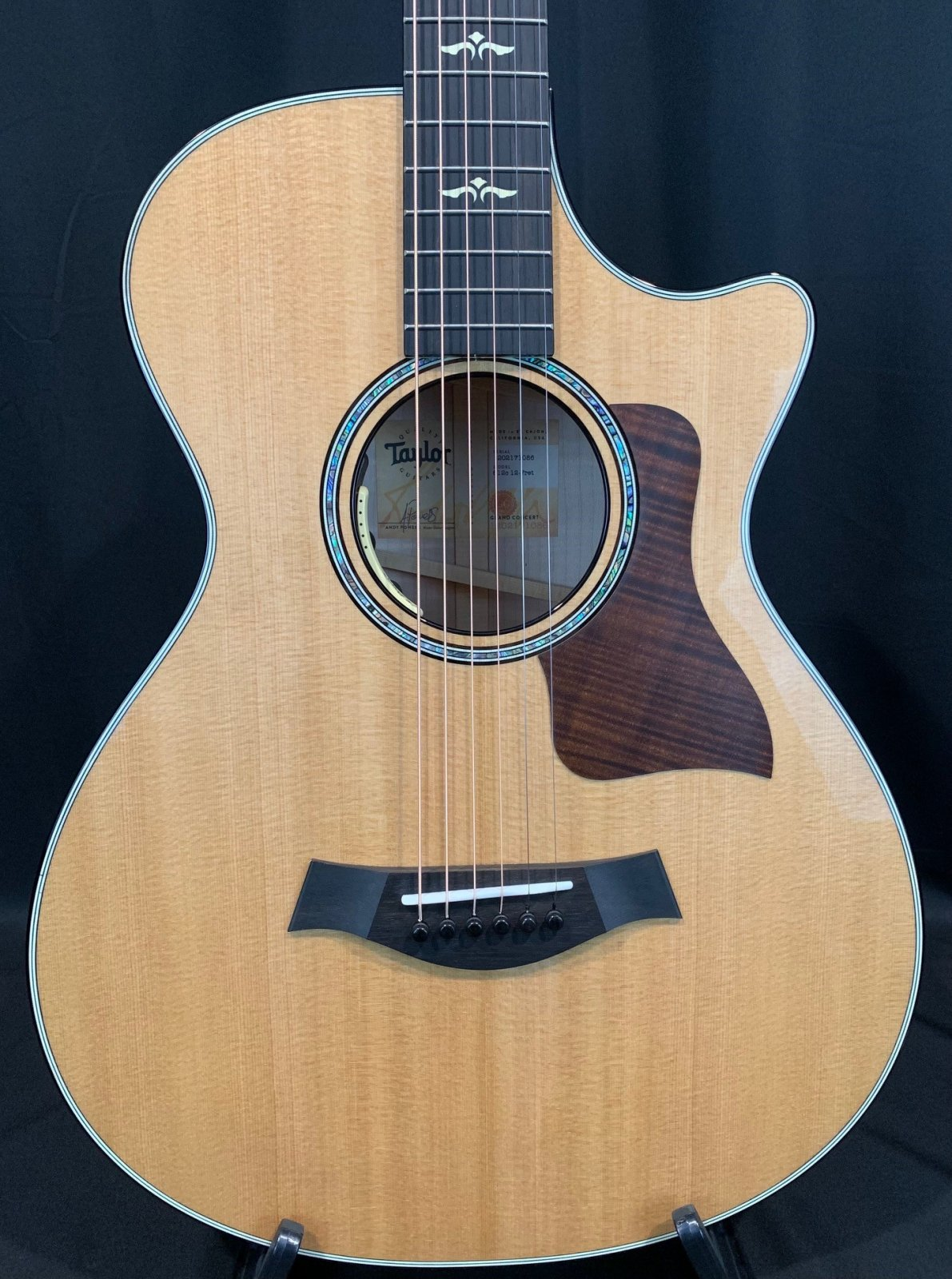 Taylor 612ce 12 fret with LR Baggs Anthem Installed Acoustic Electric Guitar