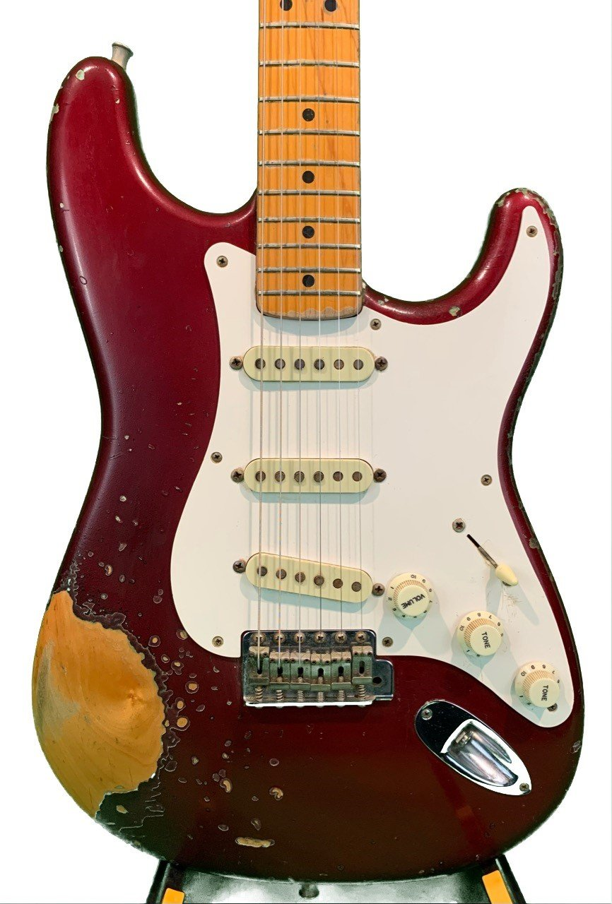 Used Fender American  '57 Reissue Stratocaster  (1990) Roadworn  With Case