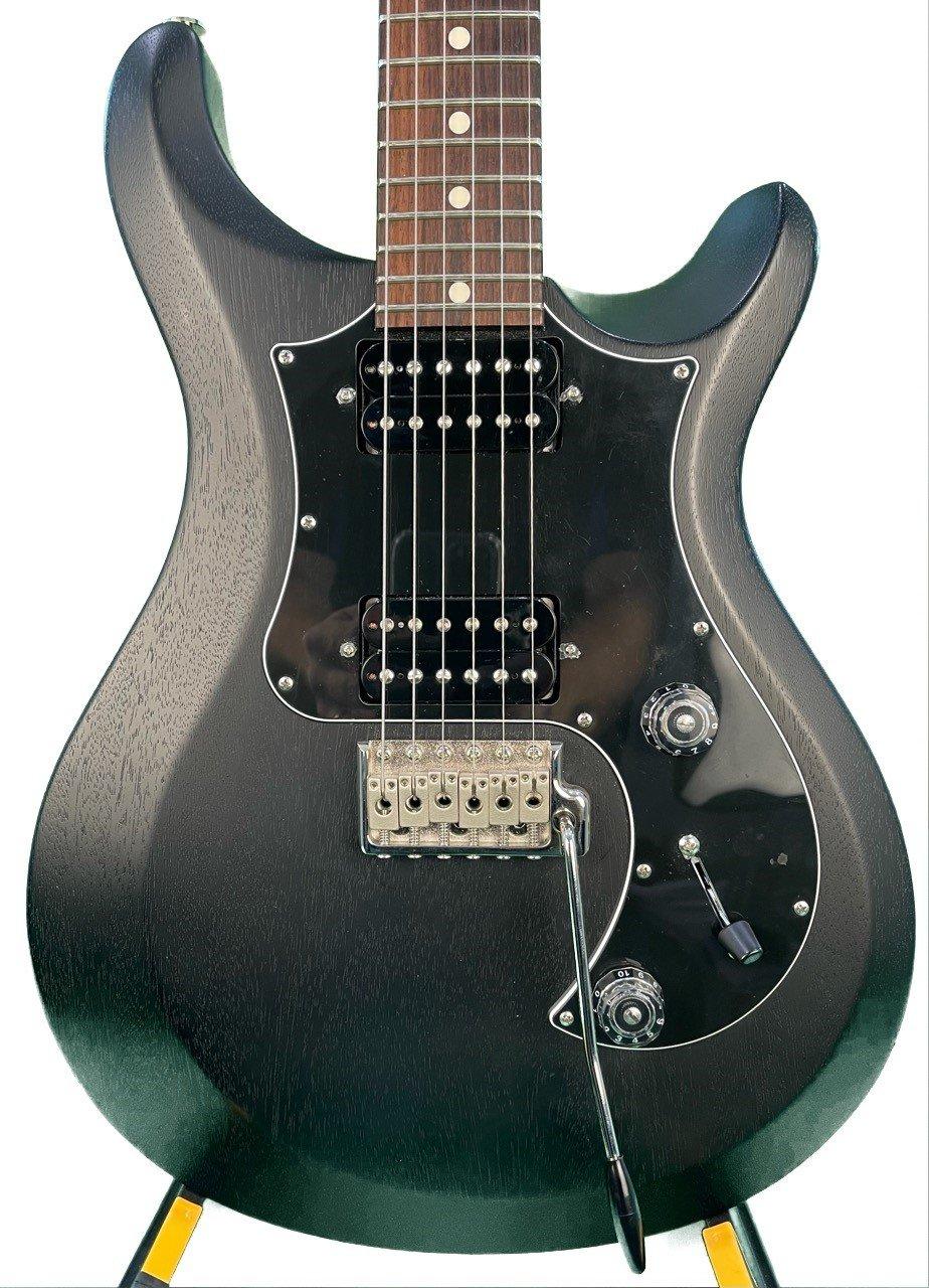 Used PRS S2 STD24 in Satin  Black with Stock Gig Bag
