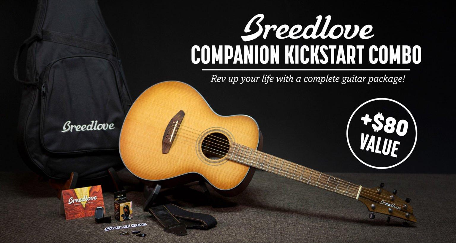 Win this Breedlove Companion Kickstart Combo!