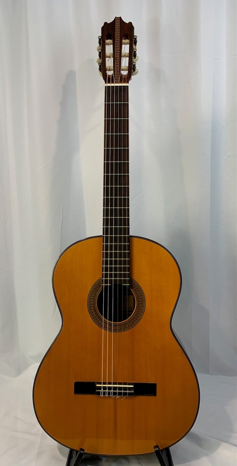 Used Bruno V-1587 Classical Guitar with case