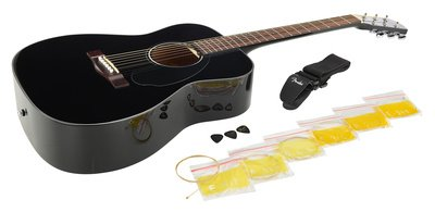 Fender CC-60S Concert Pack in Black V2
