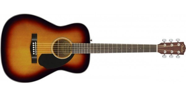 Fender CC-60s 3TS  Sunburst acoustic guitar