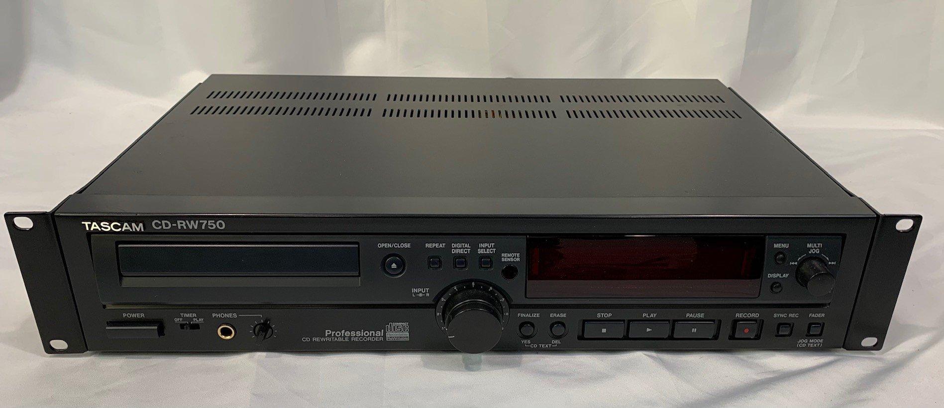 Tascam CD-RW750  Rewritable CD Recorder
