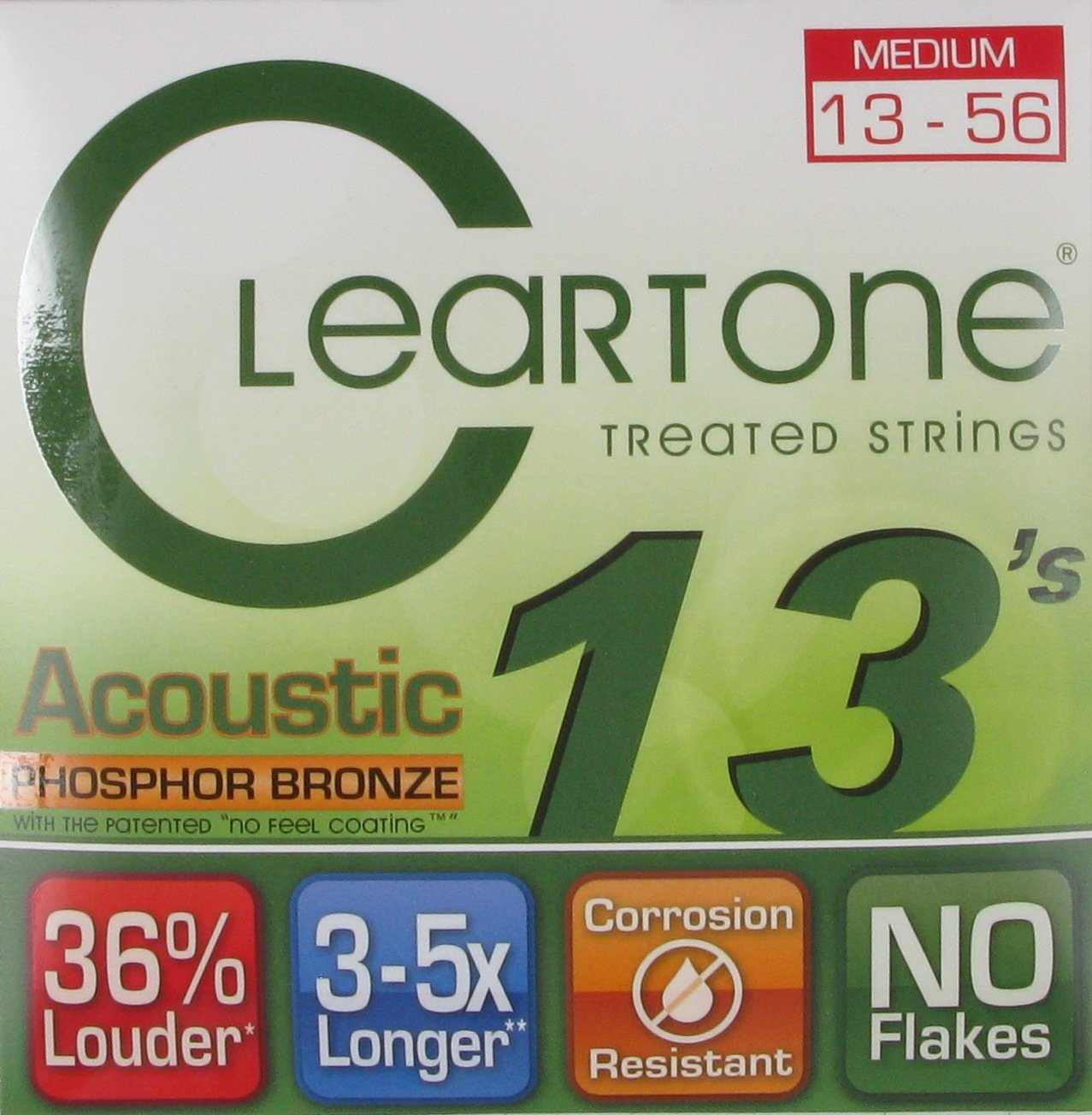 Cleartone Acoustic Treated Strings PB Medium