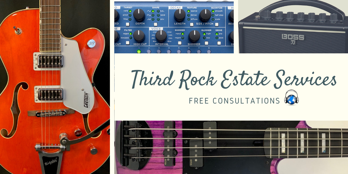 Estate Services offered by Third Rock Music Center