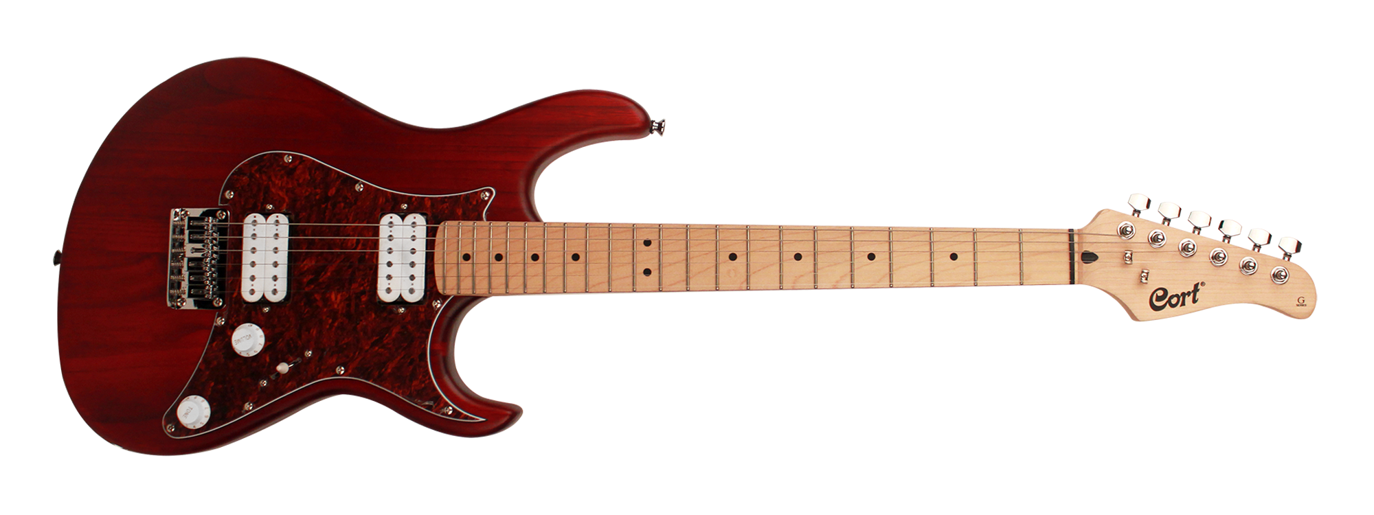 Cort G100OPBC Electric Guitar in Black Cherry