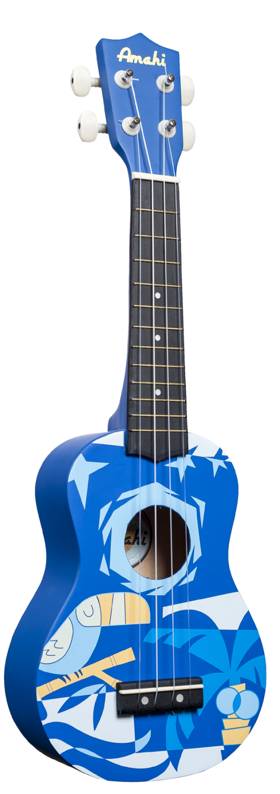 Blue Bird Design Soprano Uke