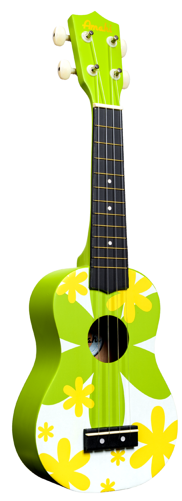 Green Flower Soprano uke
