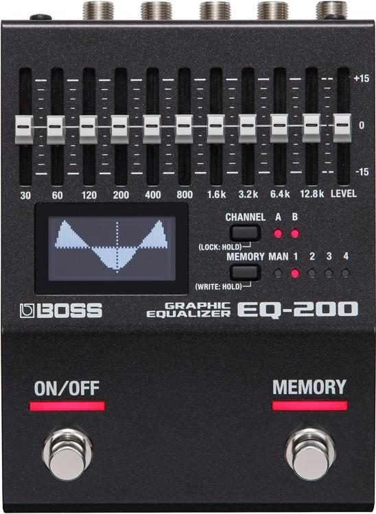 Boss EQ-200 Programmable EQ Pedal