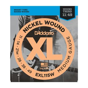 EXL115W  11-49 w3  Electric Guitar Strings