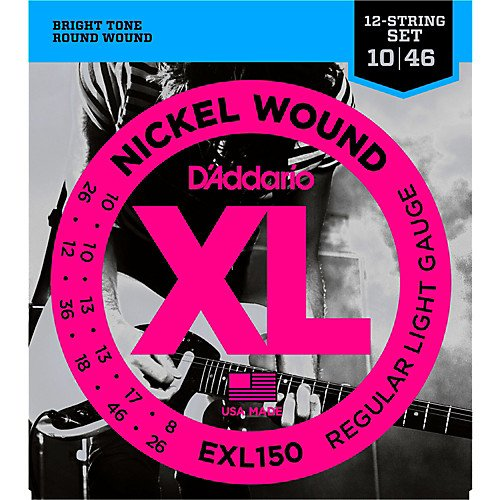EXL150 12 string Electric 10-46
